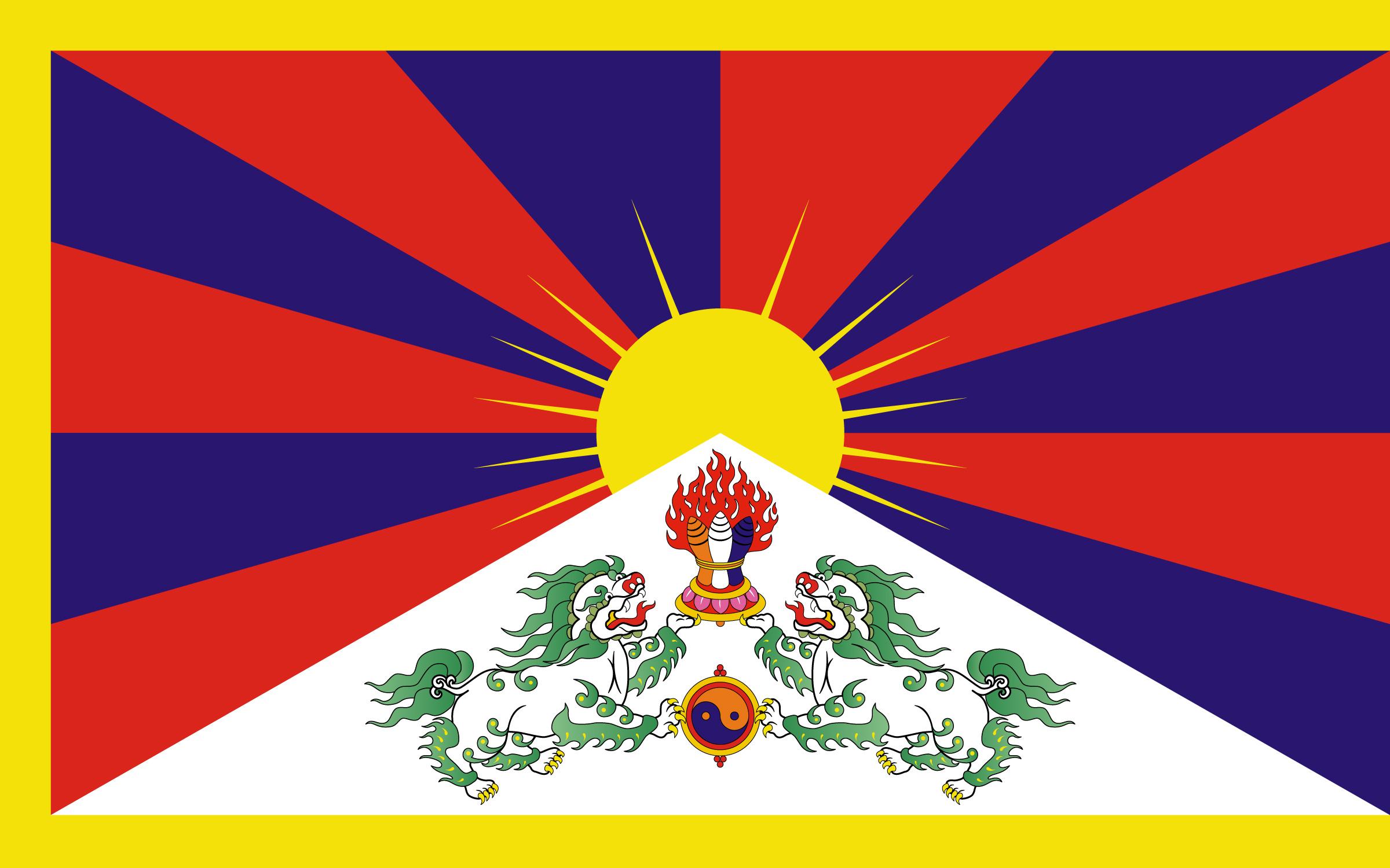 Tibet-Flagge